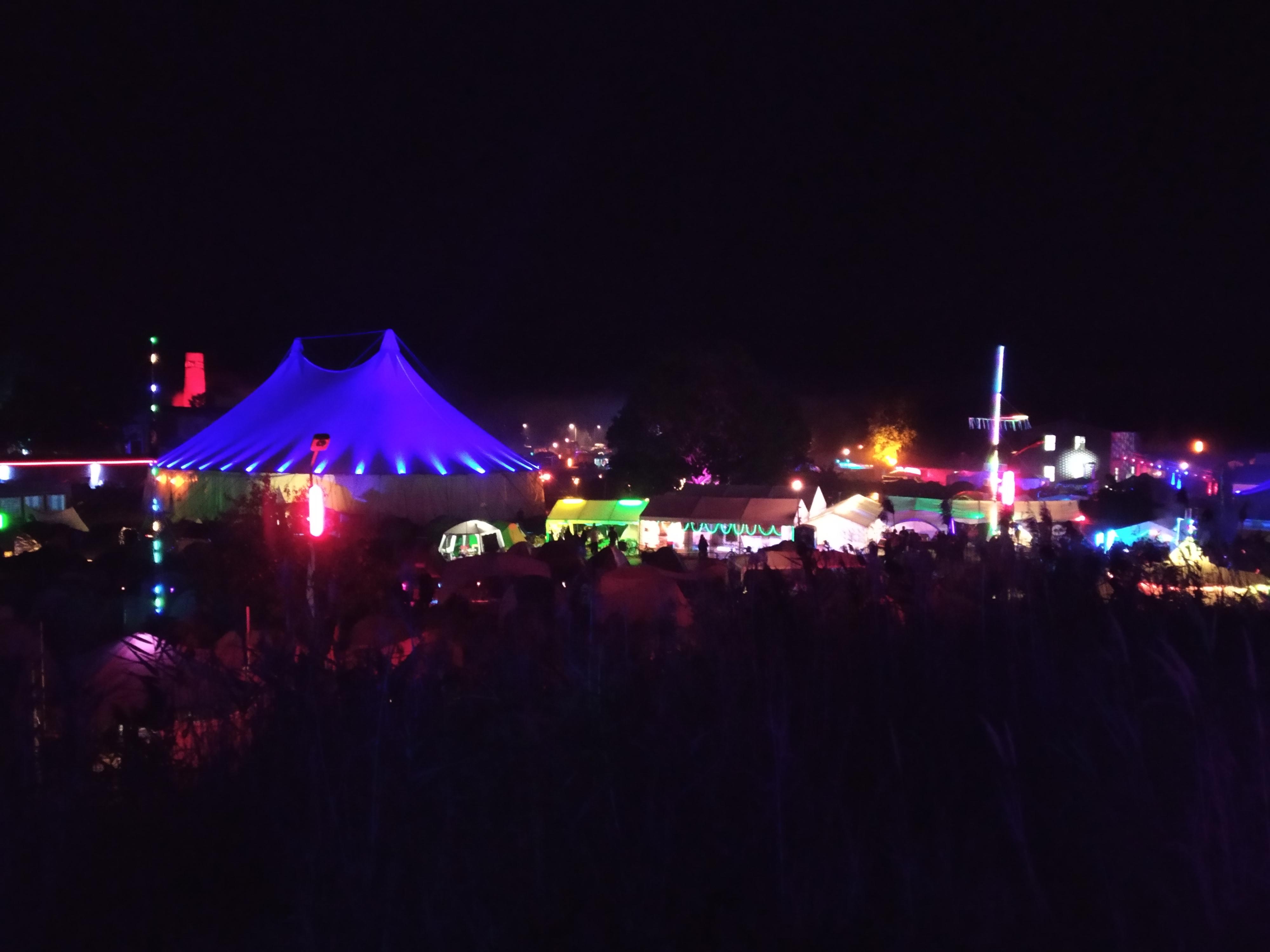 CCCamp ponoči