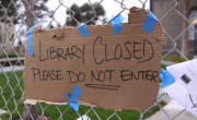 zaprta knjižnica