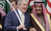 Bush in Saudi