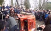 protesti v Albaniji