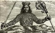Naslovnica knjige Leviathan (avtor Abraham Bosse, 1651)