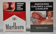 grafično označevanje tobačnih škatlic