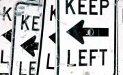 držite se levo