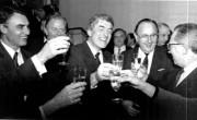 Nazdravlanje sprejetju maastrichtske pogodba leta 1992