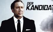 Plakat za nemško sinhronizacijo filma z naslovom Der Kandidat