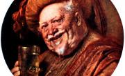 Eduard Grutzner Sir John Falstaff