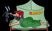 Brez komarjev, ni malarije.