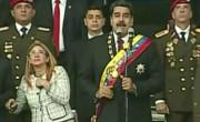Nicolas Maduro pred poskusom atentata