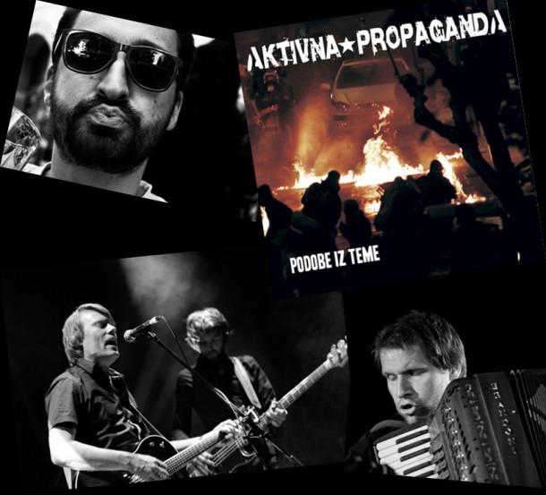 100 dB - Picaboj, Aktivna propaganda, The Frictions, Jure Tori