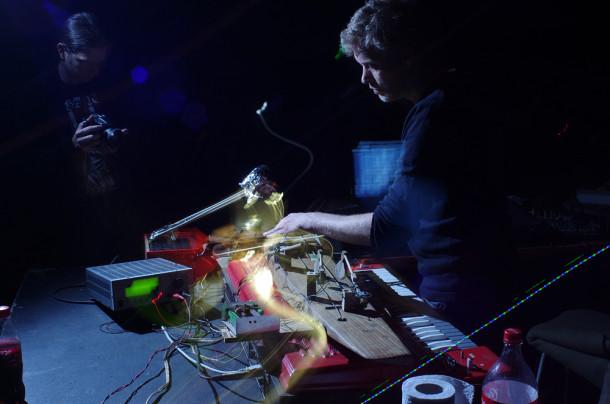 Stefan  Doepner & HrastniBass - photo Sara Moritz