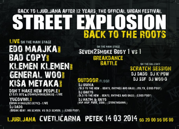 Street Explosion: Back To The Roots