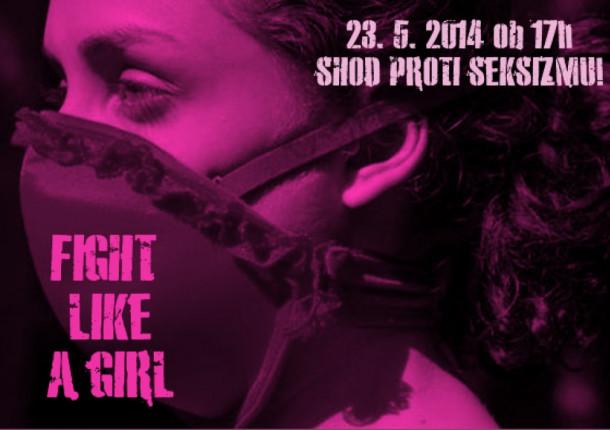 23.5.2014 ob 17.00 Shod proti seksizmu Ljubljana