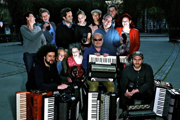 Die Wiener Ziehharmoniker (foto: Viktor Brazdil)