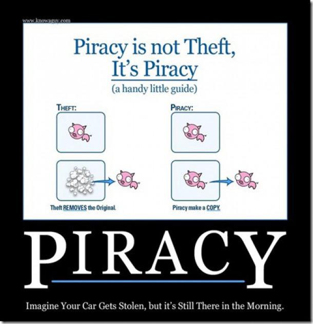 piratstvo ni kraja, prej kopiranje
