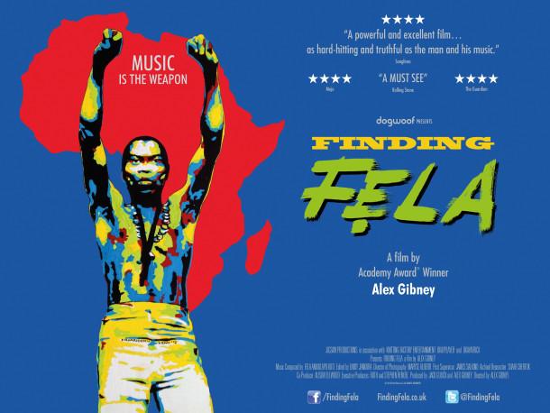 Finding Fela, filmski plakat