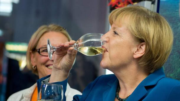 Merkel success