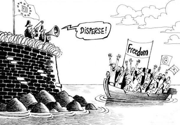 gostoljubje in solidarnost do beguncev