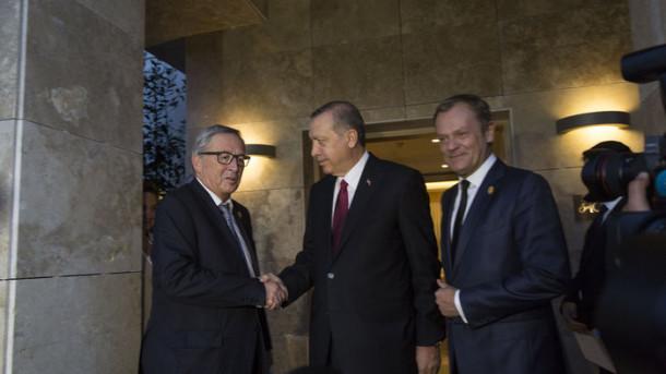 erdogan, juncker in tusk