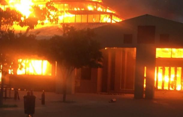 northwest university mahikeng požar