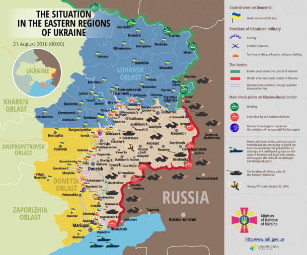 ukrajinski zemljevid konflikta