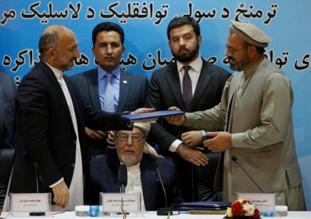 Premirje v Afgnistanu