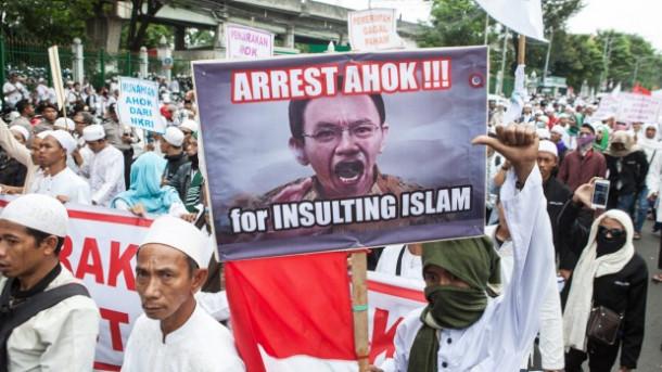 Protesti v Džakarti