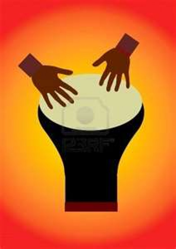 The Drum Of Africa.