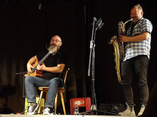 Trzaska, Mazur, Jørgensen Trio (foto: Tina Jenko)