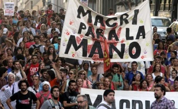 macri, argentinska stavka