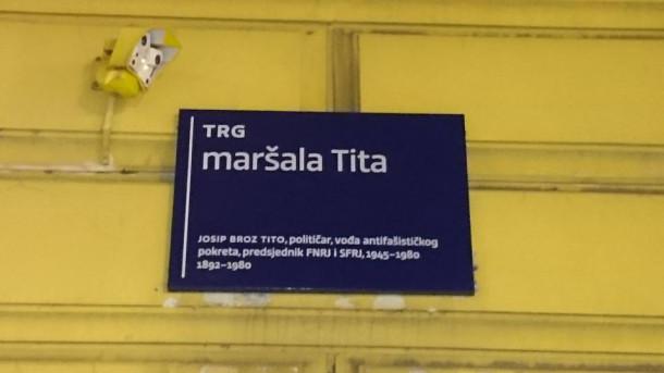 Trg maršala Tita - Zagreb