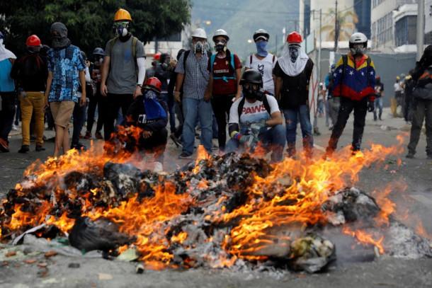 Nasilje venezuelske opozicije