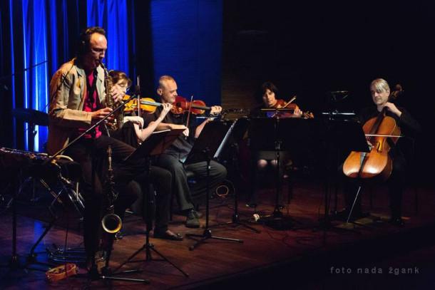 Enzo Fabiani Quartet in Boris Kovač (foto: Nada Žgank)