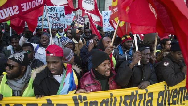 Protesti v Italiji