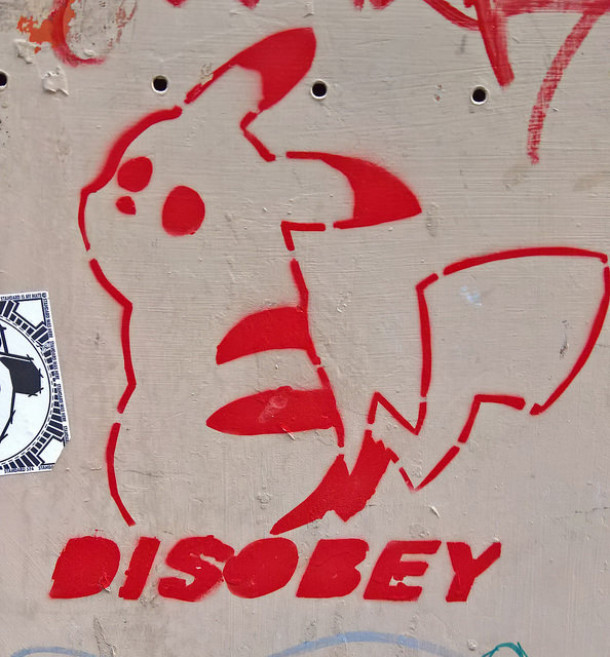 """""""Disobey"""" Florence 2016 ©Ithmus"""