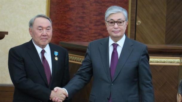Nazarbajev in Tokajev