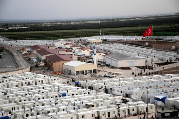 Sirski begunci v Turčiji