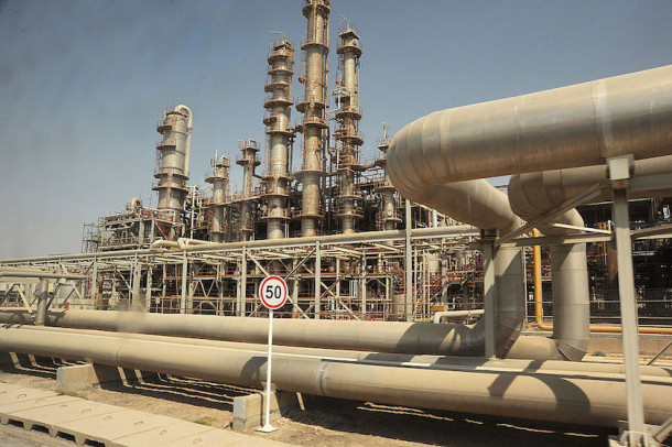Iransko naftno polje