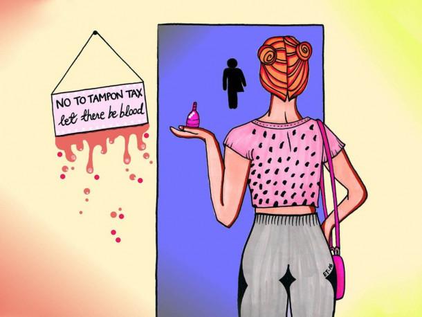 Davek na higienske izdelke za menstruacijo