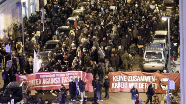 Protesti v Turingiji