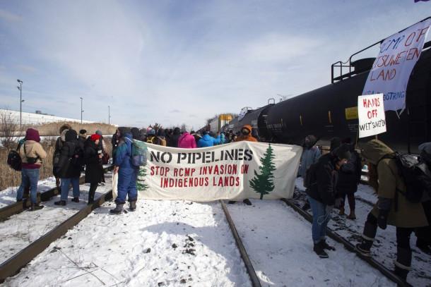 Protesti v Kanadi