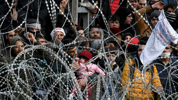 Migranti na grško-turški meji