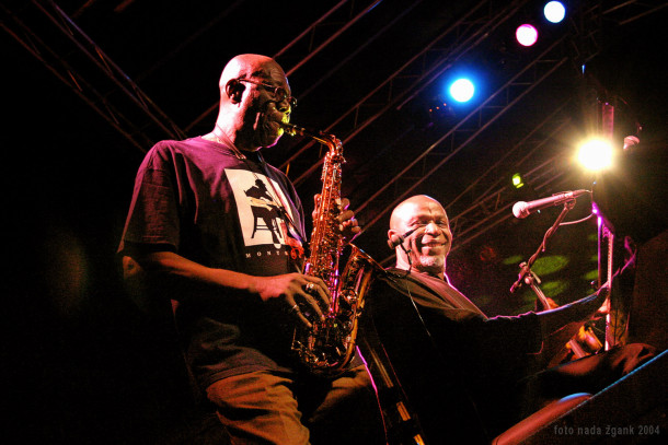 Manu Dibango in Ray Lema (foto: Nada Žgank)