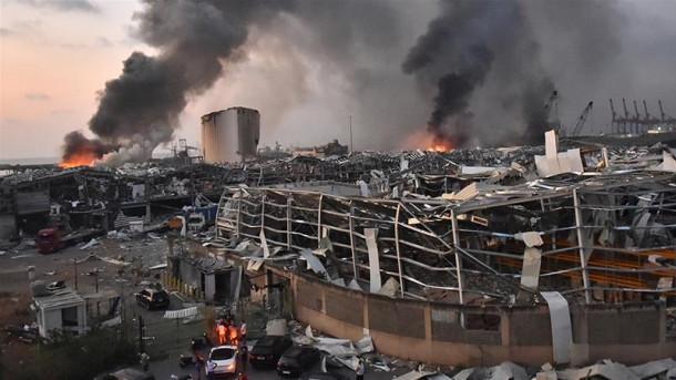 Eksplozija v Bejrutu