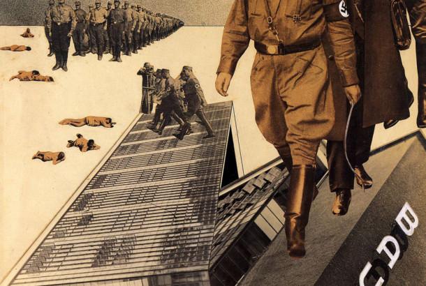 """Iwao Yamawaki, """"Napad na Bauhaus"""", 1932"""