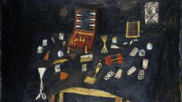 Gabrijel Stupica, Miza z igračami, 1954