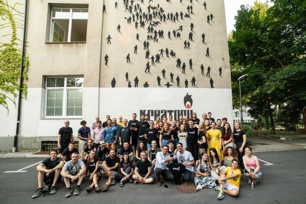 Fotografija vseh udeležencev izmenjave